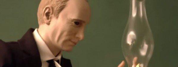 кукла Путин