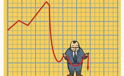 экономика падение
