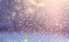 снегопад волшебно