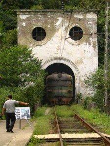 Железная дорога в Абхазии