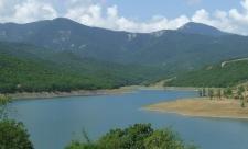Изобильненское водохранилище в Крыму