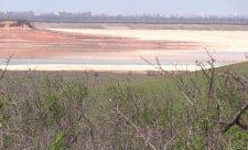Обмелевшее Межгорное водохранилище. Фото: КрымРеалии