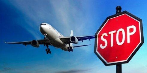 запрет на полеты самолет