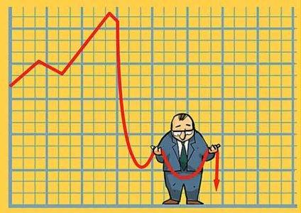 падаение внешней торговли