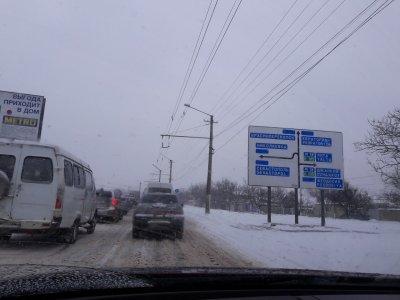 Поворот на Ялтинскую объездную