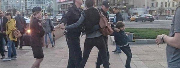 полиция дети задержание