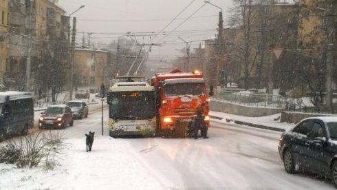 севас снег авария