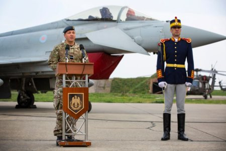 ROYAL AIR FORCE FIGHTERS CLEARED FOR ROMANIAN MISSION