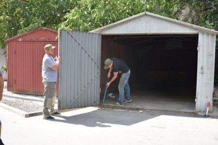 демонтаж гараж
