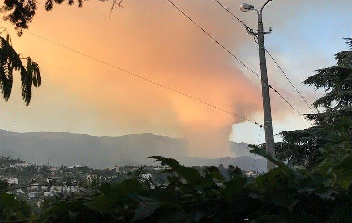 пожар ялта