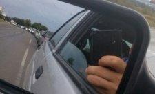 Пробка на трессе Керчь-Симферополь. Фото из социальных сетей