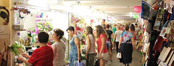 цветы торговля подземный переход симф