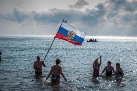 крим море турист