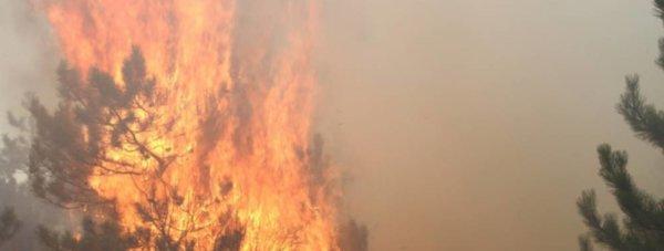пожар белогорск