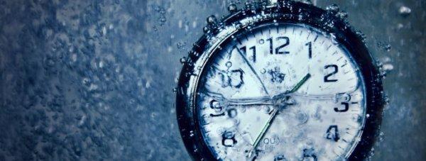 вода по часам