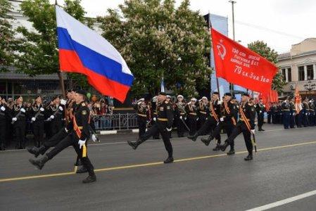 парад 9 мая крим
