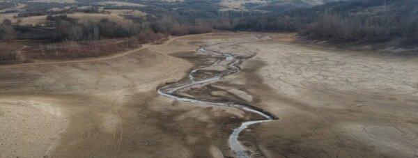 Высохшее Аянское водохранилище